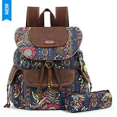 Sakroots-Artist Circle Flap Backpack