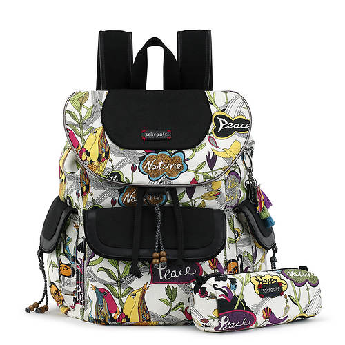 Sakroots-Artist Circle Flap Backpack
