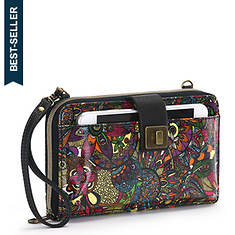 Sakroots-Artist Circle Large Smartphone Crossbody Bag