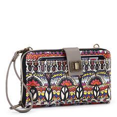 Sakroots-Artist Circle Large Smartphone Crossbody Bag