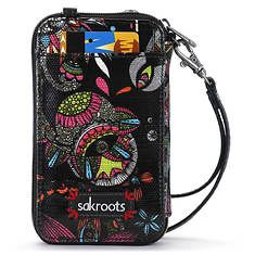Sakroots-Artist Circle Smartphone Wristlet
