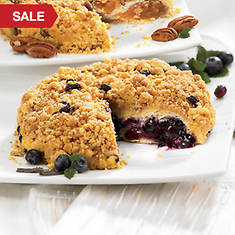 No Sugar Crumb Cakes - Blueberry