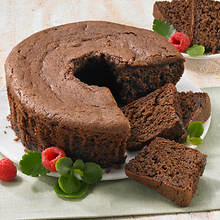 No Sugar Added Bundt Cakes - Chocolate