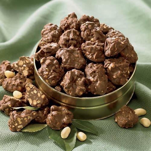Sugar Free Milk Chocolate Peanut & Cashew Clusters