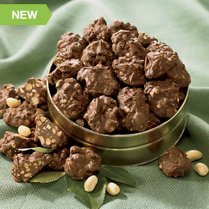 Sugar Free Milk Chocolate Peanut Clusters