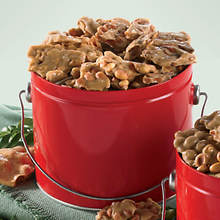 Sugar Free & No Sugar Added Buttery Nut Brittle Variety Tin