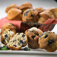 Sugar Free & No Sugar Added Muffins - Blueberry Burst