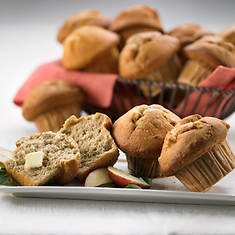 Sugar Free & No Sugar Added Muffins - Apple Explosion