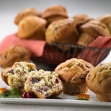 Sugar Free & No Sugar Added Muffins - Cranberry/Orange