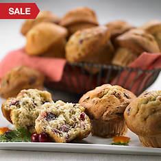 Sugar Free & No Sugar Added Muffins - Cranberry/Orange