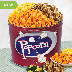 NSA & Low Sodium Popcorn Time Tin