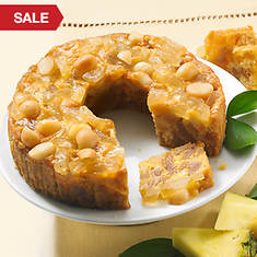 No Sugar Added Pineapple Macadamia Cake