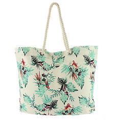 Roxy Printed Tropical Vibe Tote Bag