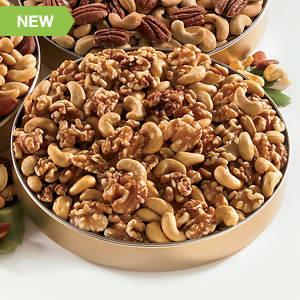 Unsalted Walnuts & Cashews Mix