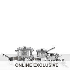 WearEver Cook and Strain 10-Piece Set