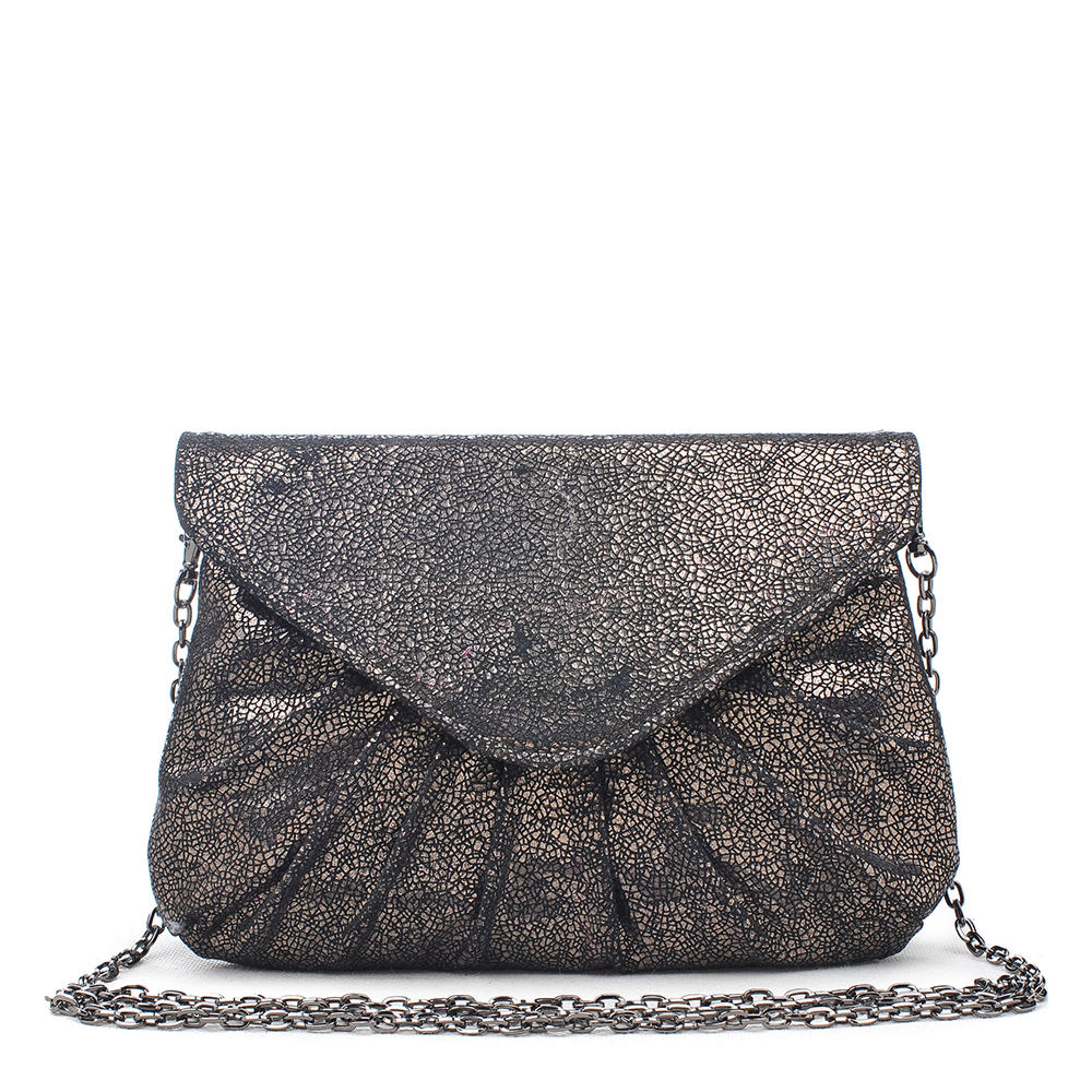 1950s Handbags, Purses, and Evening Bag Styles Urban Expressions Lana Crossbody Bag Pewter Bags No Size $59.95 AT vintagedancer.com