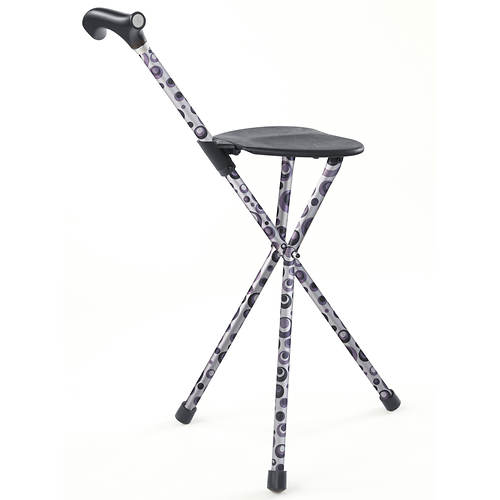 HealthSmart Switch Sticks Folding Seat Stick