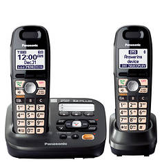 Panasonic Phone, Answering System, and 2 Handsets