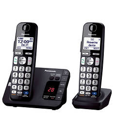 Panasonic DECT 6.0 Phone, 2 Handsets, and Answering System