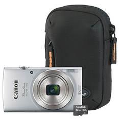 Canon PowerShot ELPH180 Camera Kit