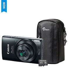 Canon ELPH 190 IS Digital Camera Kit