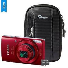 Canon ELPH 190 IS Digital Camera Kit