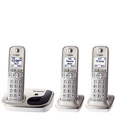Panasonic DECT 6.0 Phone with 3 Handsets