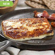 Baked Cheese with Bacon
