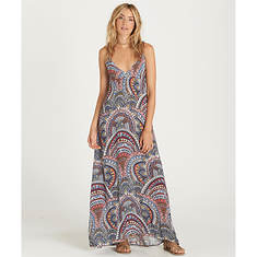 Billabong Places To Be Maxi Dress