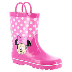 Disney Minnie Rain Boot CH15141 (Girls' Toddler)