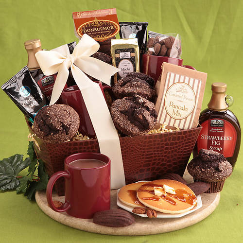Chocolate Brunch Gift Basket
