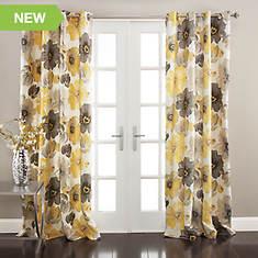 Lush Décor - Leah Window Curtains