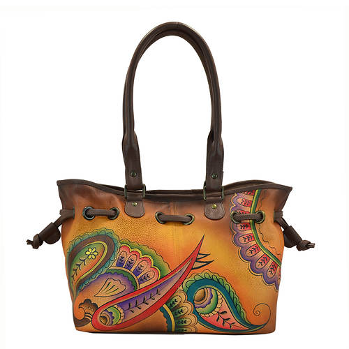 Anna by Anuschka Draw-String Tote/Satchel