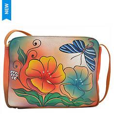 Anna by Anuschka Shoulder Bag with Adjustable Handle