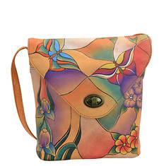 Anna by Anuschka V-Shaped Flap Bag