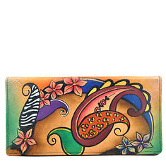 Anna by Anuschka Ladies Wallet with Rear Gusset