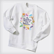 Personalized Lollipop Sweatshirt