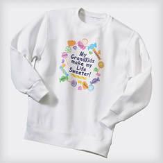 Personalized Lollipop Sweatshirt