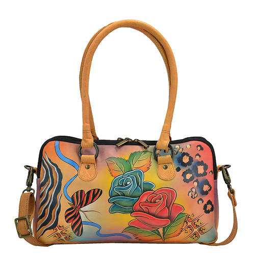Anna by Anuschka Large Multi Compartment Satchel