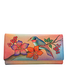 Anna by Anuschka Checkbook Wallet & Clutch