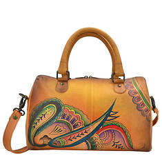 Anna by Anuschka Large Zip Around Satchel