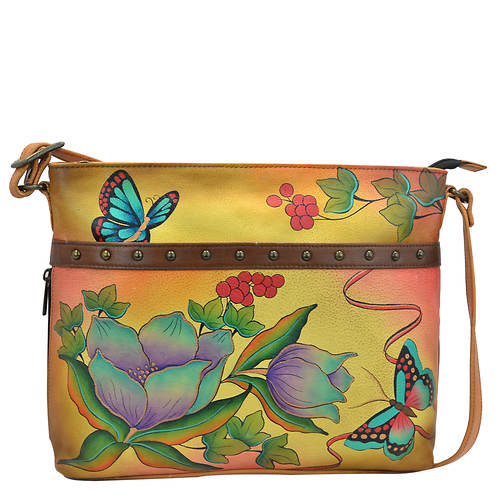 Anna by Anuschka Medium Organizer Crossbody