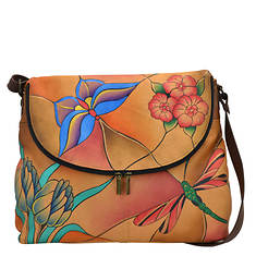 Anna by Anuschka Large Flap Bag