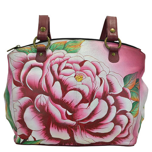 Anna by Anuschka Triple Compartment Convertible Tote
