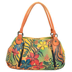 Anna by Anuschka Ruched Large Satchel
