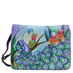 Anna by Anuschka Small Flap Crossbody Organizer