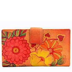 Anna by Anuschka Two Fold Organizer Wallet