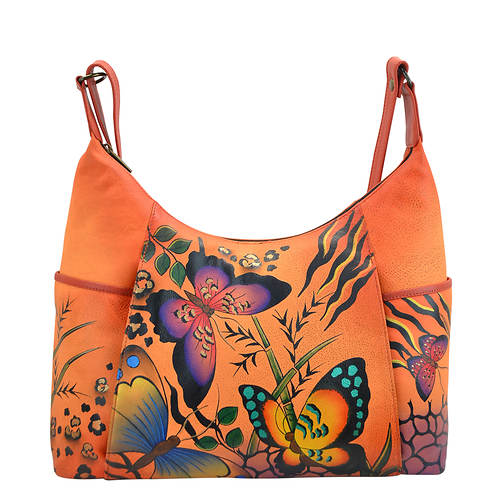 Anna by Anuschka Medium Tote - Front Zip