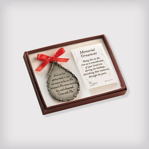 Personalized Memorial Ornament-Her