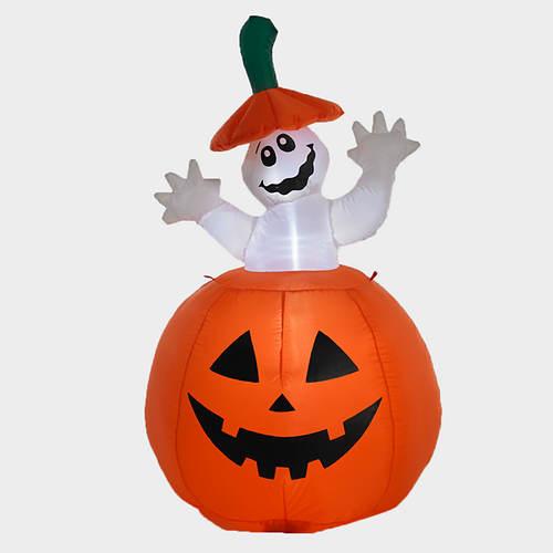 Halloween Inflatable Jack-o-Lantern